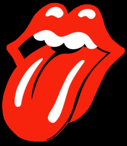 tongue sticking out rolling stones