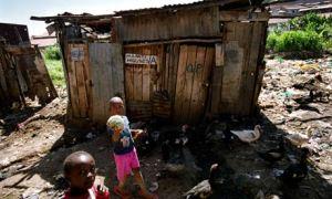 MDG: Kenya : Sanitation : Toilets at Mathare slums, Nairobi