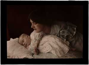 Mother_and_Child,_1912 Henry Essenhigh Corke (1883-1919)
